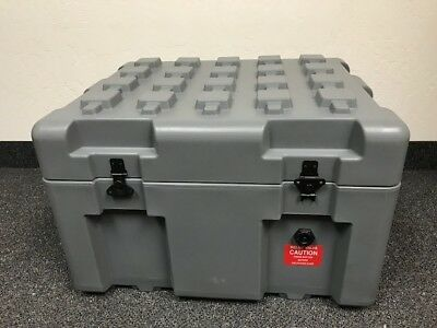 ECS ,Pelican Hardigg, Case, Military Container, Grey in Excellent condition!