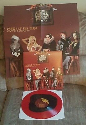 Panic! At The Disco - A Fever You Cant Sweat Out Limited Edition Colored Vinyl