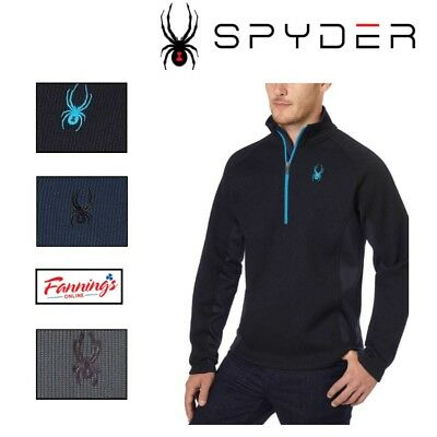 NEW Spyder Men's Outbound Half Zip Midweight Core Sweater SIZE COLOR VARIETY