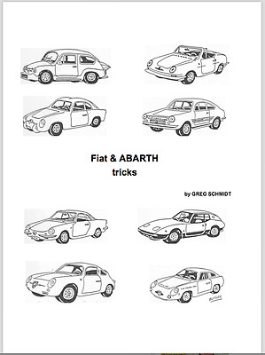 Manual de Taller de Fiat & ABARTH. En Ingles (En CD)