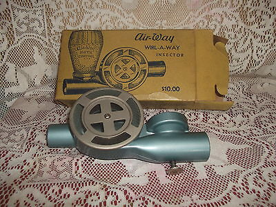 Vintage Whirl-a-way Insector Moth Control Air-way Limited London England  boxed