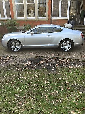 Bentley GT Continental 6.0 W12 ,  Age 54,  Miles 69,800k,Silver,FSH