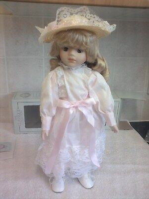 The Classique Collection -  Jessica Porcelain Doll Brand New