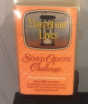 US Playing Card Co Days of our Lives Soap Opera Challenge Free Shipping!