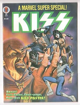 Marvel Comics Super Special #5 KISS Magazine Dec 1978 No Poster Otherwise VF