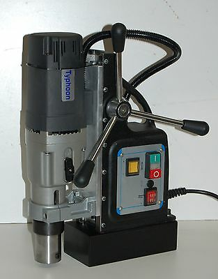 BLUEROCK ® Model TYP-75 Mag Drill - TYPHOON 75 Magnetic Drill - Mag Drill NEW!