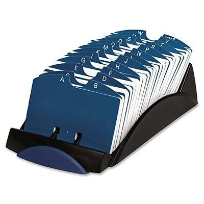 """Rolodex R-470 4 x 2.2"""" Inc. dividers and 100 plastic card holders"""