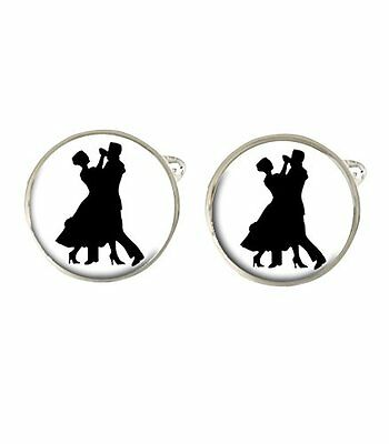 Ballroom Dancing Mens Cufflinks Ideal Birthday Fathers Day Gift C196