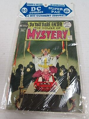 1972 DC Super Pac B-5 (2-Pack Sealed) House Mystery 202+ Minty Bronze Age CK267