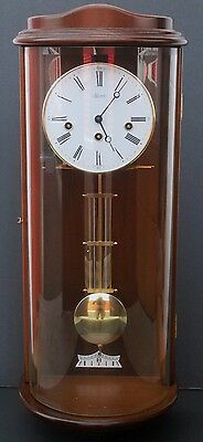 Hermle Wall Clock - Three Key Windings, Pendulum, Chimes