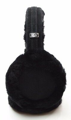 100% AUTHENTIC - UGG Sheepskin Earmuff (Black) - MSRP $75