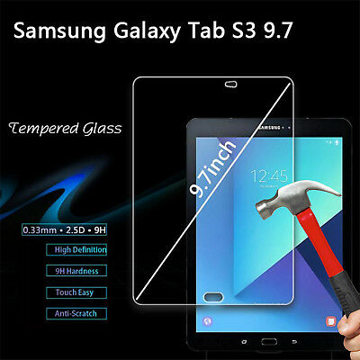 Full 9H Tempered Glass Samsung Galaxy Tab S3 9.7 inch tablet screen protector