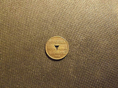 USA Pittsburg Railways Co.Transit Authority 1922 Good For One Fare Token LOT102D