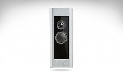 Ring PRO Video Door Bell Kit - 4 FACEPLATES - Deliveries, Security, Safety