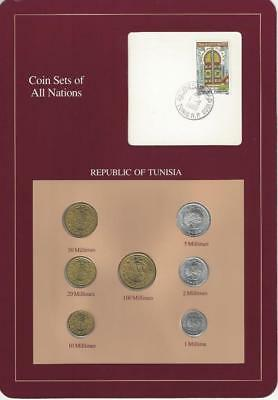 Coin Sets of All Nations - Tunisia