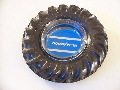 Good Year Tractor Tire Ashtray Very Nice Condition!