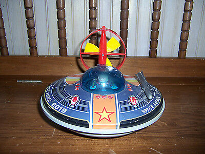 Vintage SPACE PATROL 2019 Toy Spaceship INCOMPLETE For Repair/Parts Japan