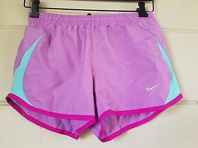 NIKE tempo shorts women's size XS purple and teal running  gym workout