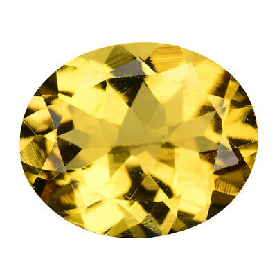 3.920Cts Top stunning golden yellow natural HELIODOR BERYL oval gems see video