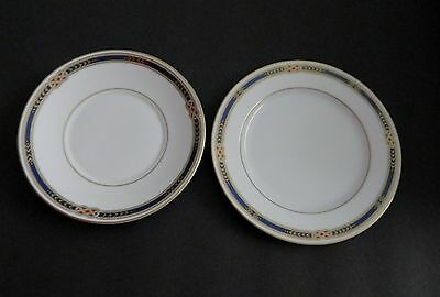 Faberge Monarch pattern Bread & Butter Plate and Saucer Japan 2 pcs
