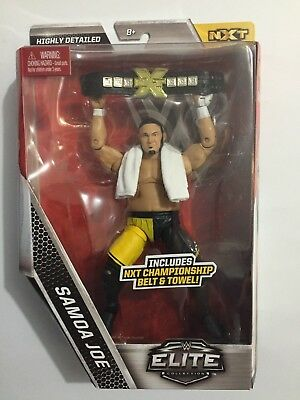 Samoa Joe NXT WWE Elite Figurine.