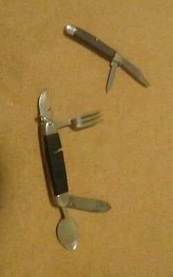 Lot Of 2 Vintage Ireland Made Knives...jowika And Imperial