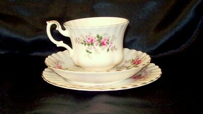 Royal Albert Lavender Rose Bone China  Cup, Saucer and side plate