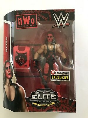 Sting NWO Wolfpac WWE Elite Figure.