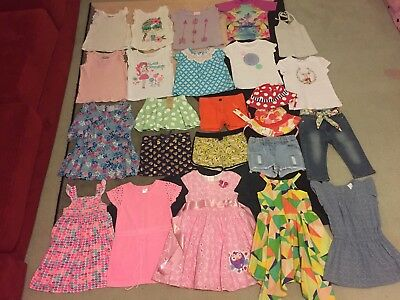 Bulk lot girls sz 3 summer clothes lots New Giggle Hoot Country Road Patch Mango