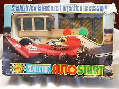 Scalextric Auto Start In Origanal Box C275 Auto Start. Cool Item.