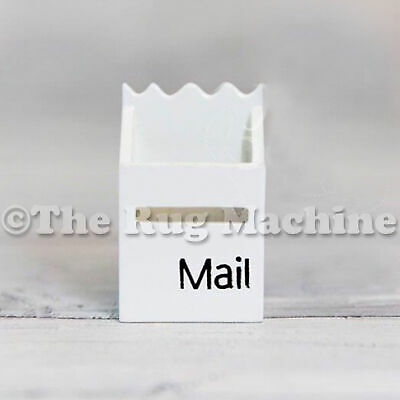 MAGICAL FAIRY MAILBOX - WHITE Wooden Miniature Doll Size|Aussie Company **NEW**
