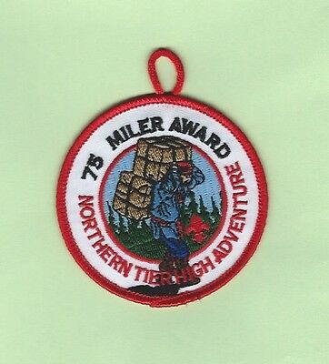 Northern Tier - 75 Miler Award Patch