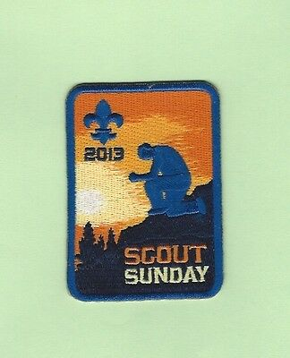 2013 Bsa Scout Sunday Patch
