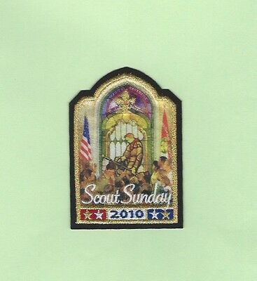 2010 Bsa Scout Sunday Patch