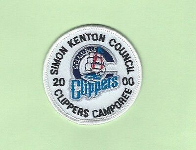 Simon Kenton Council 2000 Clippers Camporee Patch