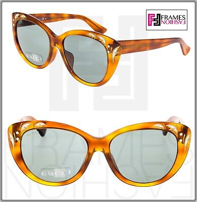 6c1ded36b554c GUCCI GG3828 F S Blonde Havana Mother Of Pearl Sunglasses ASIAN FIT 3828  3806