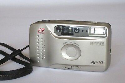 Ricoh AF-10 - 35mm Compact Film Camera for street photography. Tested, Working.