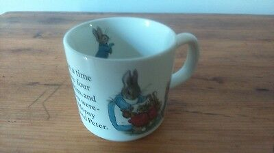 Mug Ou Tasse Wedgwood Peter Rabbit Occasion Tbe