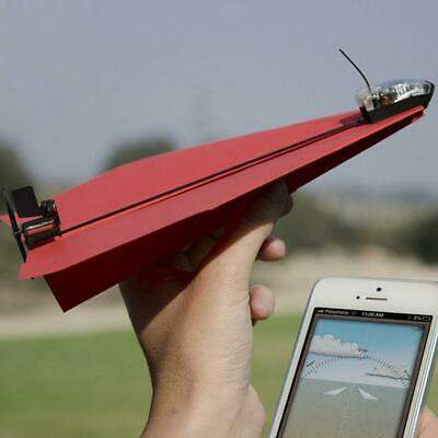 PowerUp 3.0 Bluetooth Controlled Paper Aeroplane for iOS & Android