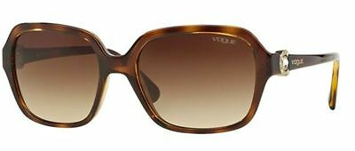 Genuine VOGUE 2994SB Replacement Sunglasses Lenses - Gradient Brown Polycarb.