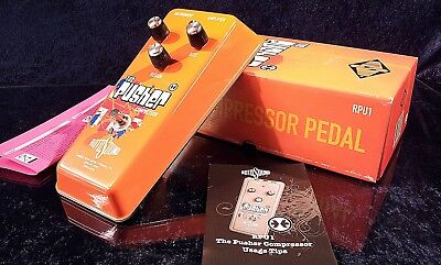 NEW Rotosound The Pusher RPU1 Compressor Sustainer Handmade Effect Pedal TOP
