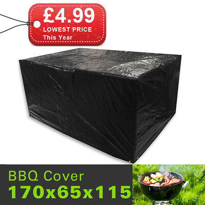 BBQ Burner Grill Cover Waterproof Outdoor BBQ Barbecue Cover Storage Protection