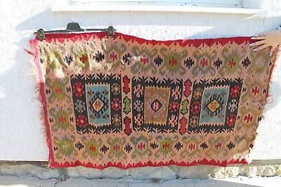 Antique Authentic Old Hand Ottoman Woolen Persian Rug Carpet
