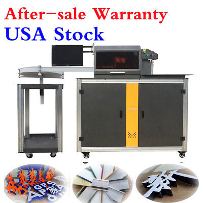 USA Automatic CNC Sign Letter Bending Making Three-in-one for Aluminum, SS, Iron