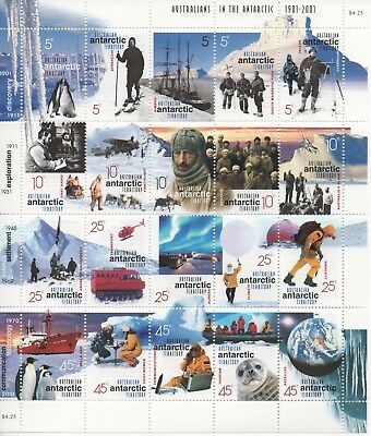 Australian Antarctic Territory - Beautiful Sheet of Stamps