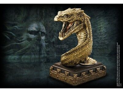 Ferma Libri Basilisco Harry Potter  The Basilisk Bookend Noble Collection