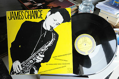 "James Chance - Limited Records Edition 1979 - Vinile - Lp 33 Giri - 12"" - Ex"