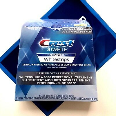 Crest 3D White Luxe Supreme Flexfit Dental Whitening Kit