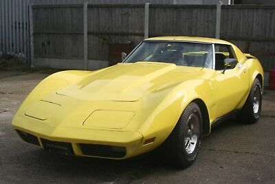 1974 Chevy C3 Corvette Stingray 350 V8 Auto T-Top Coupe Great Project Relisted !