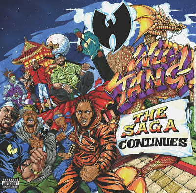Wu-Tang Clan Cd - The Saga Continues [Cd] W/ Free Bonus Album [Rare Exclusive]